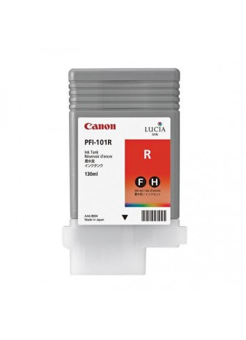 Canon originál ink PFI101R, red, 130ml, 0889B001, Canon iPF-5000
