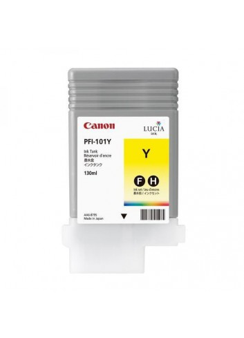 Canon originál ink PFI101Y, yellow, 130ml, 0886B001, Canon iPF-5000