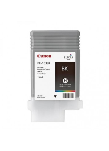 Canon originál ink PFI103B, photo black, 130ml, 2212B001, Canon iPF-5100, 6100