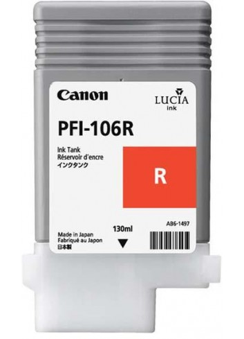 Canon originál ink PFI106R, red, 130ml, 6627B001, Canon iPF-6300