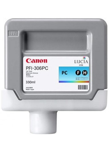 Canon originál ink PFI306PC, photo cyan, 330ml, 6661B001, Canon iPF-8300, 8400, 9400
