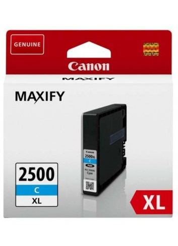 Canon originál ink PGI 2500XL, cyan, 19.3ml, 9265B001, high capacity, Canon MAXIFY iB4050, MB5050, MB5350