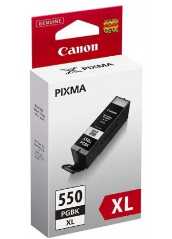 Canon originál ink PGI550BK XL, black, 22ml, 6431B001, high capacity, Canon Pixma 7250, MG5450, MG6350, MG7550