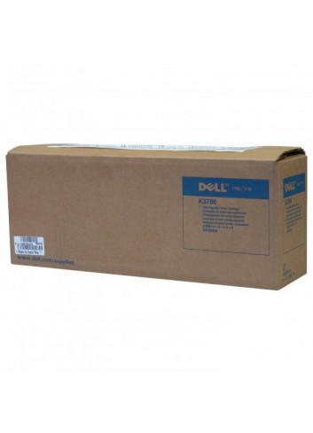 Dell originál toner 593-10102, black, 6000str., K3756, return, high capacity, Dell 1700, 1710N