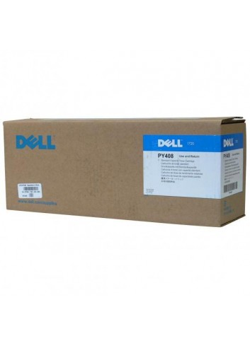 Dell originál toner 593-10238, black, 3000str., PY408, return, low capacity, Dell 1720, 1720DN