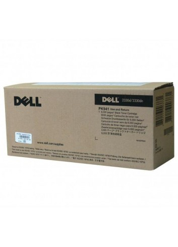 Dell originál toner 593-10335, black, 6000str., PK941, return, Dell 2330d, 2330dn, 2350, 2350dn