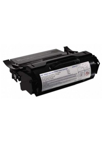 Dell originál toner 593-11052, black, 30000str., 2KMVD, return, high capacity, Dell 5350DN