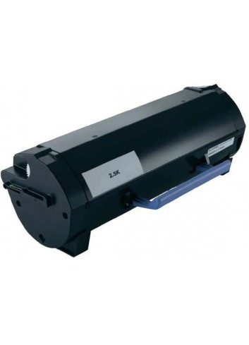Dell originál toner 593-11165, black, 2500str., RGCN6, return, Dell B2360d, B2360dn, B3460dn, B3465dnf