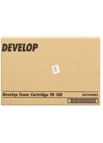 Develop originál toner 4827000003, black, 16000str., TN-108, Develop D15F