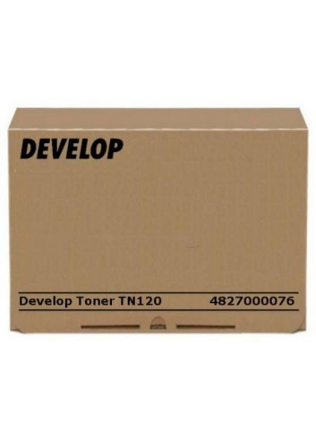 Develop originál toner 4827000076, black, 16000str., TN-120, Develop KM 240f, 1570g
