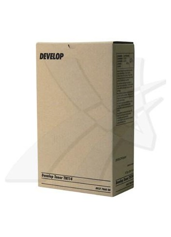 Develop originál toner 8937 7860 00, black, 22000str., TN-114, Develop D1531ID,1536ID,1650ID,1831ID,2050ID,ineo 161,213, 2x413g