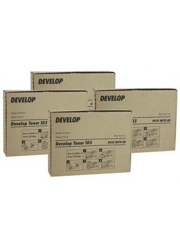 Develop originál toner 8938517, black, 20000str., TN-210K, Develop Ineo +250