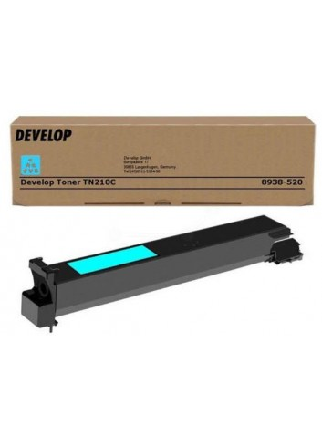 Develop originál toner 8938520, cyan, 12000str., TN-210C, Develop Ineo +250, 260g