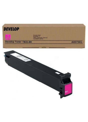 Develop originál toner A0D73D1, magenta, 20000str., TN-314M, Develop Ineo +353, +353P