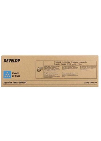 Develop originál toner A0DK4D3, cyan, 8000str., TN-318C, Develop Ineo +20
