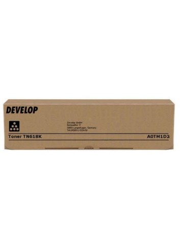 Develop originál toner A0TM1D2, black, 37500str., TN-618, Develop Ineo 552, 652