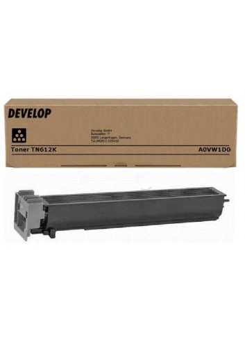 Develop originál toner A0VW1D0, black, 39400str., TN-612K, Develop Ineo +6501