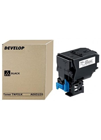 Develop originál toner A0X51D5, black, 5000str., TNP51K, Develop Ineo +3110