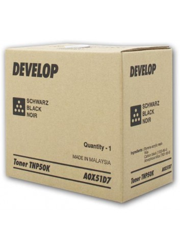 Develop originál toner A0X51D7, black, 5000str., TNP-50K, Develop Ineo +3100P