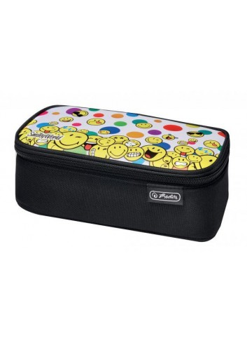 Puzdro be.bag beat etue 23x13,5x6cm SmileyWorld Rainbow Tváre