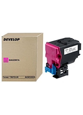 Develop originál toner A0X53D5, magenta, 5000str., TNP51M, Develop Ineo +3110