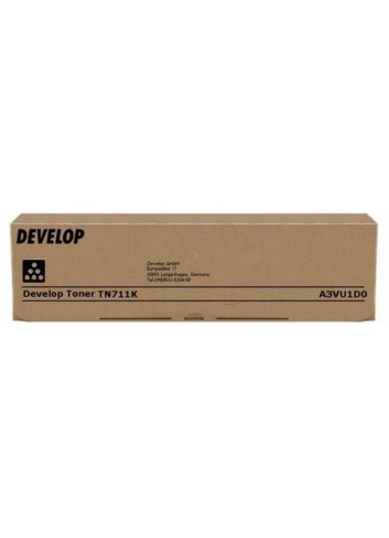Develop originál toner A3VU1D0, black, 47200str., TN-711K, Develop Ineo +654, +754