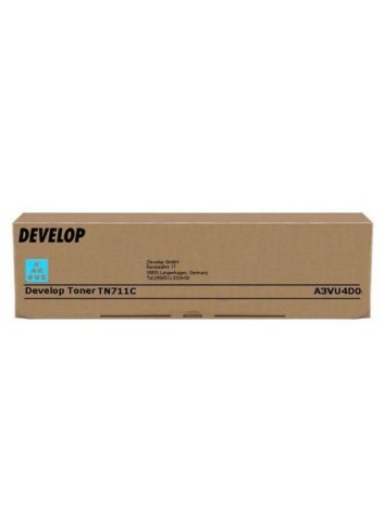 Develop originál toner A3VU4D0, cyan, 31500str., TN-711C, Develop Ineo +654, +754