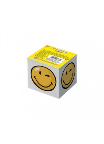 Blok kocka lepená Herlitz Smiley World 700 listov 80x80x70mm