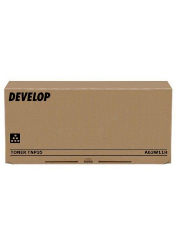 Develop originál toner A63W11H, black, 20000str., TNP-35, Develop Ineo 4000 P