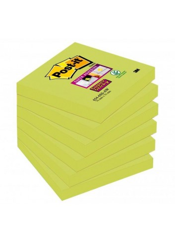 Bločky Post-it Super Sticky - Špargľa 76x76mm