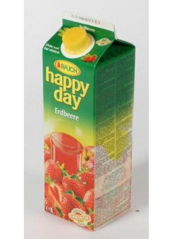 Džús Happy Day Jahoda 50% 1l