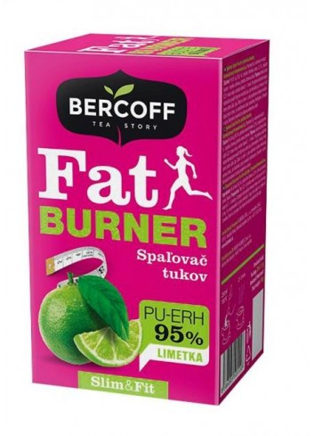 Čaj Bercoff Wellness Fat BURNER Limetka 30g