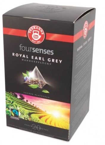 Čaj TEEKANNE FOURSENSES Royal Earl Grey Fairtrade 45g
