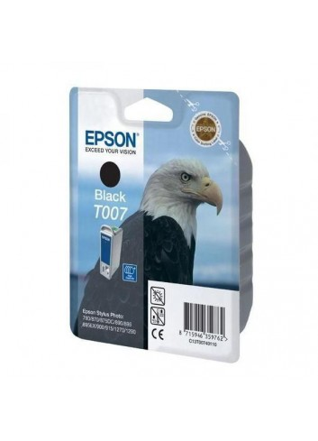 Epson originál ink C13T007401, black, 540str., 16ml, Epson Stylus Photo 870, 875D, 790, 890, 895, 1270, 1290