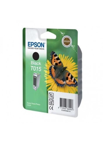 Epson originál ink C13T015401, black, 350str., 15ml, Epson Stylus Photo 2000p