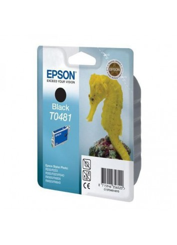 Epson originál ink C13T048140, black, 630str., 13ml, Epson Stylus Photo R200, 220, 300, 320, 340, RX500, 600