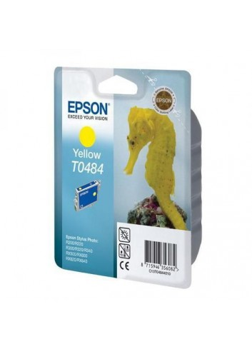 Epson originál ink C13T048440, yellow, 430str., 13ml, Epson Stylus Photo R200, 220, 300, 320, 340, RX500, 600
