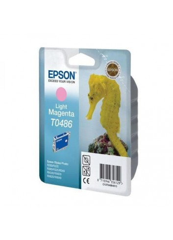 Epson originál ink C13T048640, light magenta, 430str., 13ml, Epson Stylus Photo R200, 220, 300, 320, 340, RX500, 600