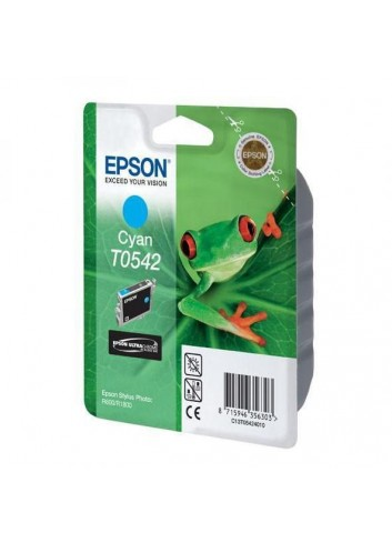 Epson originál ink C13T054240, cyan, 400str., 13ml, Epson Stylus Photo R800, R1800