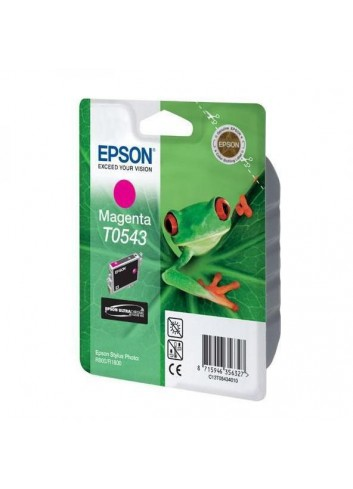 Epson originál ink C13T054340, magenta, 400str., 13ml, Epson Stylus Photo R800, R1800