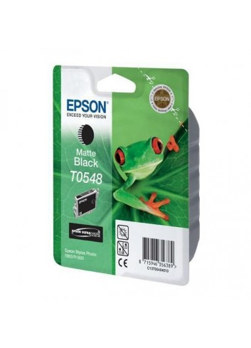 Epson originál ink C13T054840, matte black, 550str., 13ml, Epson Stylus Photo R800, R1800