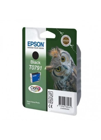 Epson originál ink C13T079140, black, 11,1ml, Epson Stylus Photo 1400