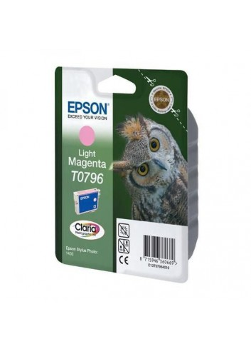 Epson originál ink C13T079640, light magenta, 11,1ml, Epson Stylus Photo 1400