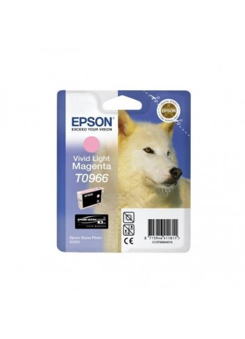 Epson originál ink C13T09664010, light magenta, 13ml, Epson Stylus Photo R2880