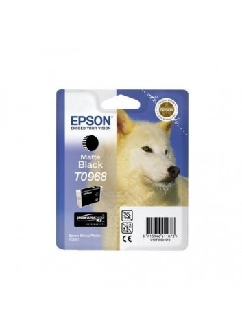 Epson originál ink C13T09684010, matte black, 13ml, Epson Stylus Photo R2880