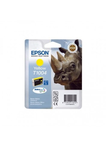 Epson originál ink C13T10044010, yellow, 11,1ml, Epson Stylus Office B40W, BX600FW