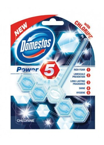 Domestos WC Power5 Chlorine 55g guľôčky do WC