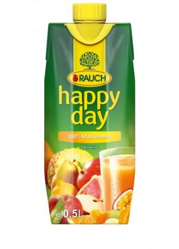 Džús Happy Day Multivitamín 0,5l
