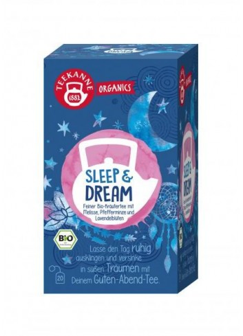 Čaj TEEKANNE Bio Organics Sleep & Dream 34g