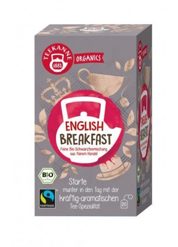 Čaj TEEKANNE Bio Organics English Breakfast 35g